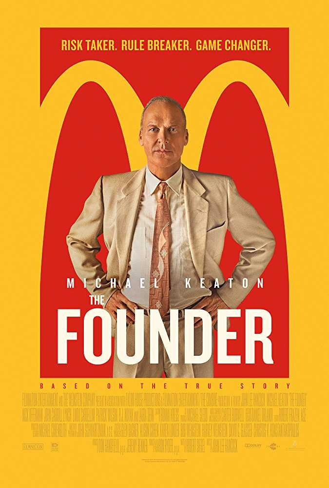 Poster The Founder 2016 Full Movie Dual Audio Hindi Free Download 300Mb