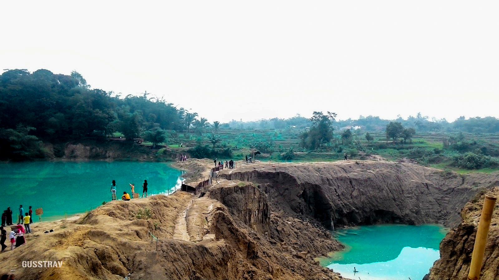 Wisata Telaga Biru Cisoka Banten