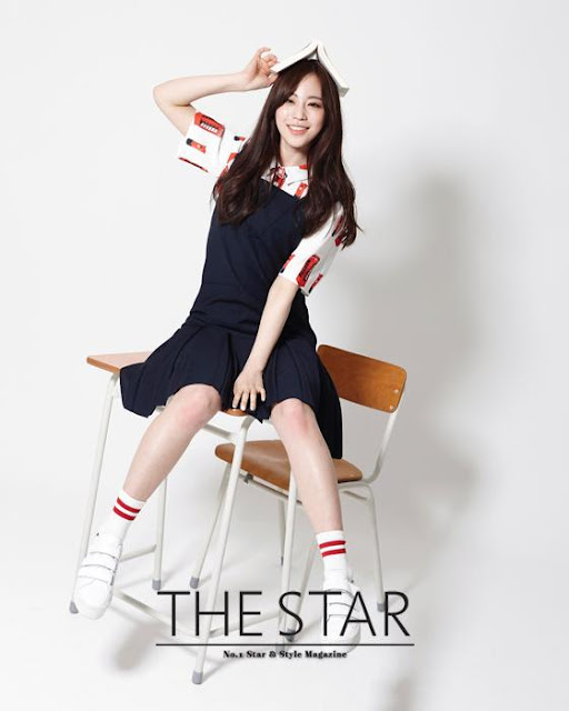 Steal Her Look: Young Ji's Preppy Pinafore Style