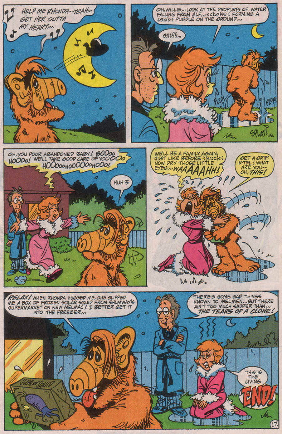 Read online ALF comic -  Issue #42 - 24