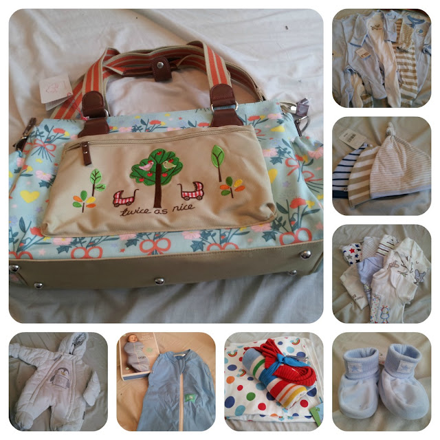 what to pack in hospital bag for baby, pink lining hospital bag, pink lining, hospital bag, newborn baby bag