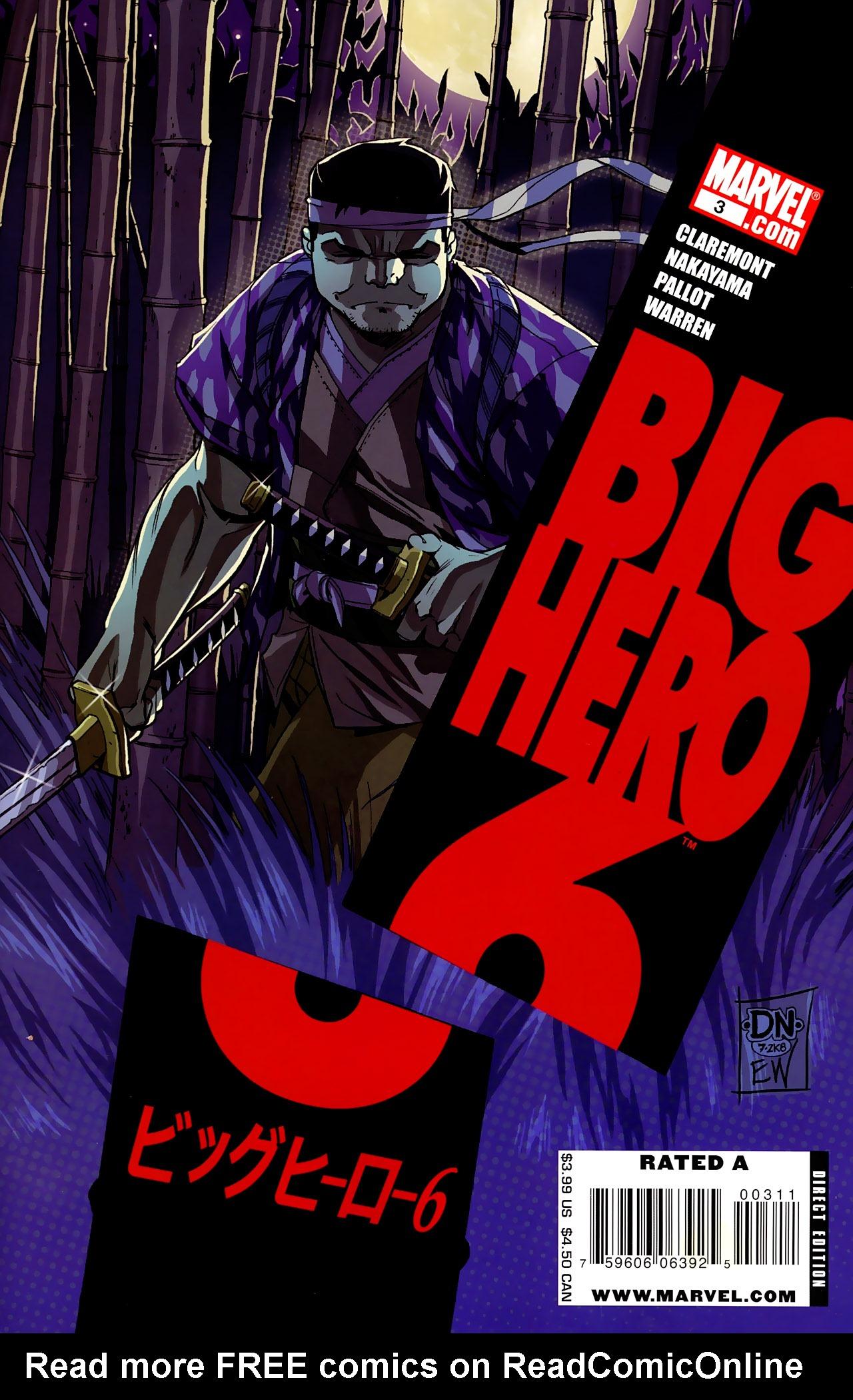 Big Hero 6 (2008) 3 Page 1