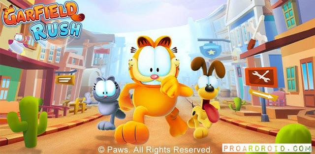 لعبة Garfield Rush v1.8.5 كاملة للأندرويد أموال غير محدودة (اخر اصدار) logo
