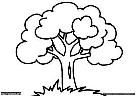 21 Gambar Mewarnai Pohon