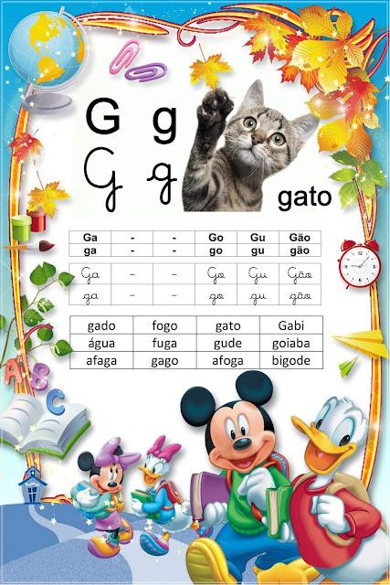 Lista de Palavras com GA GO GU GÃO