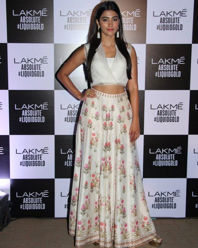 Pooja Hegde at Lakme Fashion Week Summer Resort 2017