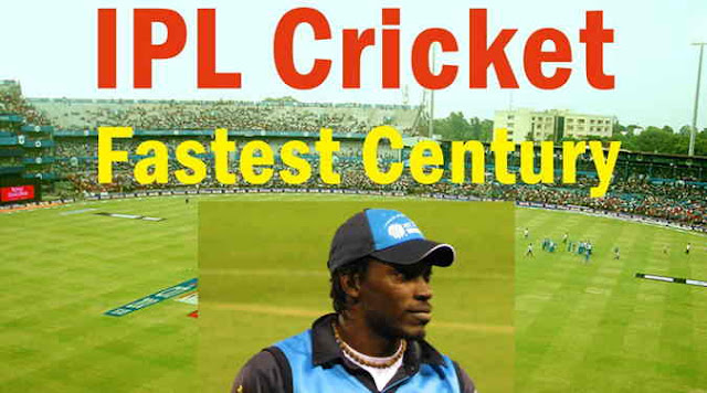 10 fastest centuries in Indian Premier League history