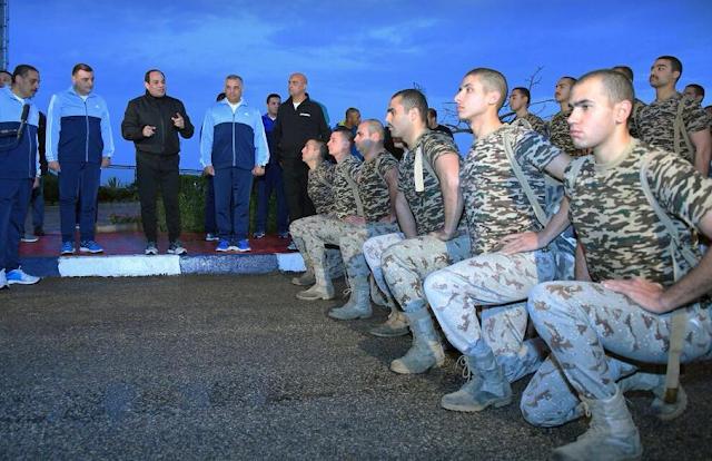 السيسى يزور كلية الشرطة صباح اليوم 23/2/2018
