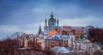 kiev ucrania san andres catedral