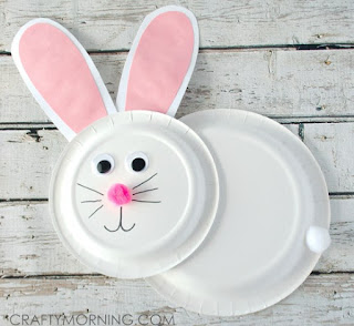 Paper Plate Bunny Rabbit Craft
