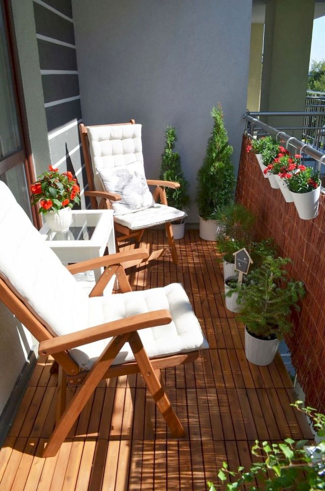 31 White Small Apartment Balcony (Low Budget)
