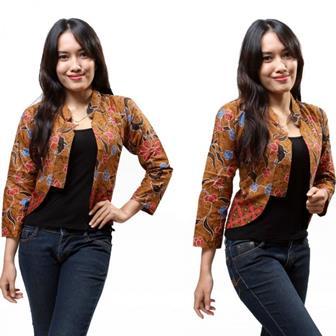 Model Baju Bolero Batik Teranyar