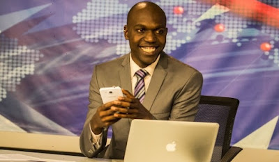 Is Larry Madowo Gay? Photo of larry madowo at NTV