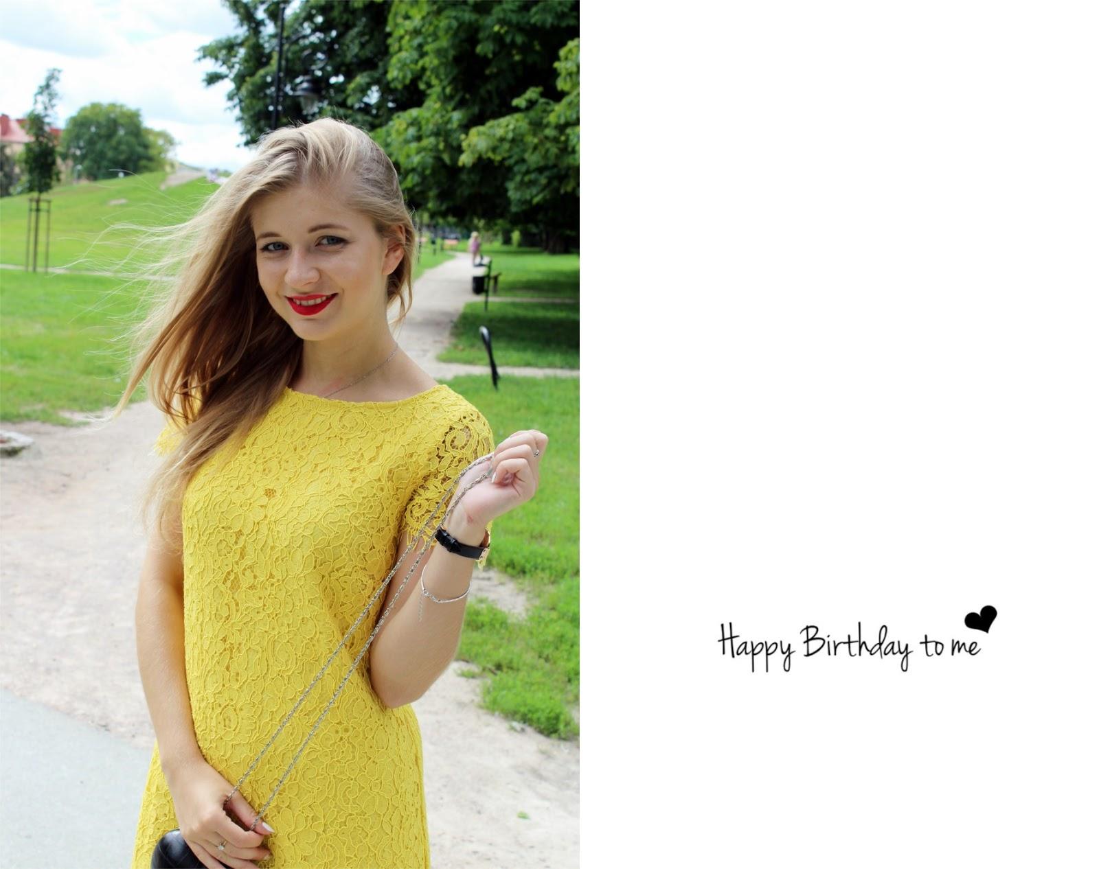 Happy Birthday to me! …