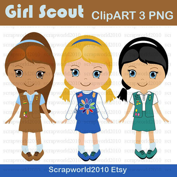 clip art free girl scouts - photo #42