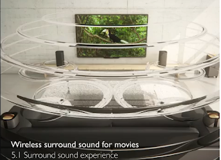 wireless surround cinema speakers