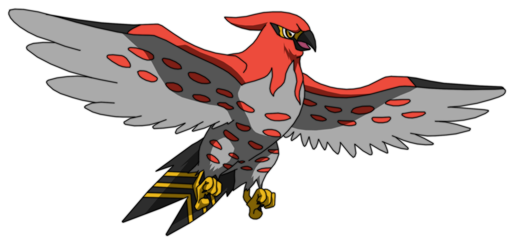 Talonflame Best Nature Oras
