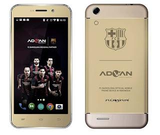 Harga Advan Barca 5 S5Q, Pesona Kamera Selfie 8 MP