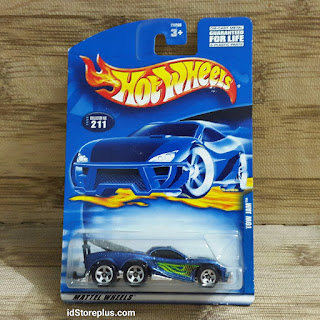 HOT WHEELS TOW JAM BLUE HW 5SP COLLECTOR NO 211