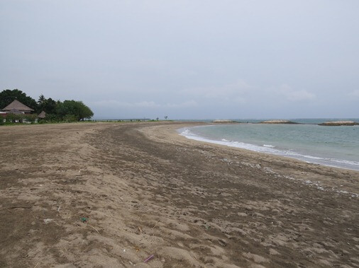 German Beach is situated inwards strategic location closed to the Ngurah Rai International Airpo BaliBeaches: High German Beach Bali - Quiet too Romantic Beach