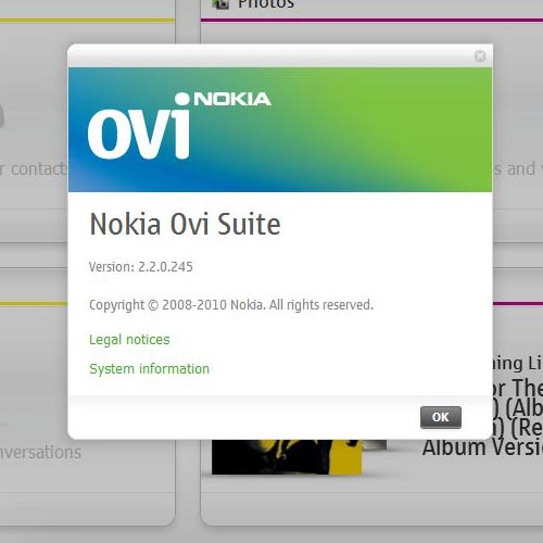 How free download nokia ovi suite for windows 7 characters