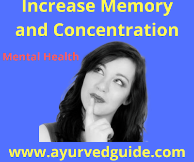 Increase Memory and Concentration