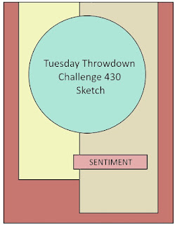 Tuesday Throwdown #430 Wink Wink Ink Sketch Challenge