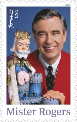 United States Post Office Issues Mister Rogers Forever Stamp