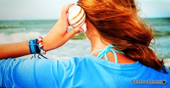Por que ouvimos o som do Mar nas conchas?