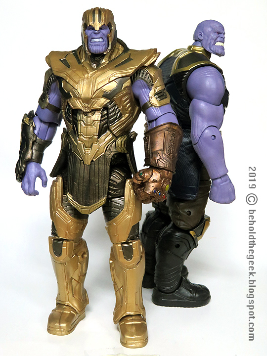 Brand New Marvel Legends Series Endgame Wave 1 Thanos BAF- Figure Hercules