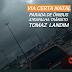Fila de dupla de ônibus e alternativos trava o trânsito no viaduto Igapó e Tomaz Landim