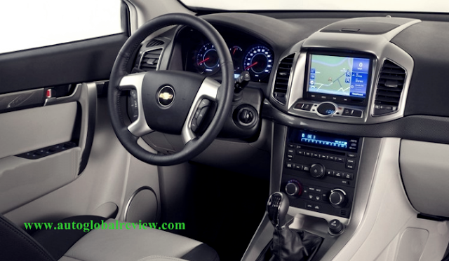 Chevrolet Captiva Interiors