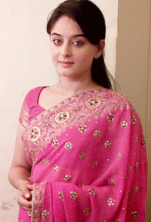 Mahhi Vij In Pink Saree