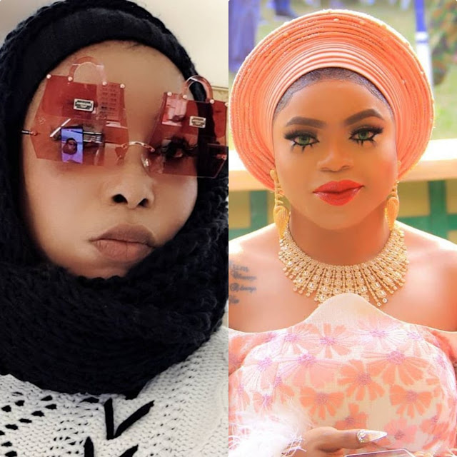 If truly you're a gay, will deny you here and after life  Popular Nigerian Actress Lizzy Anjorin tells Bobrisky