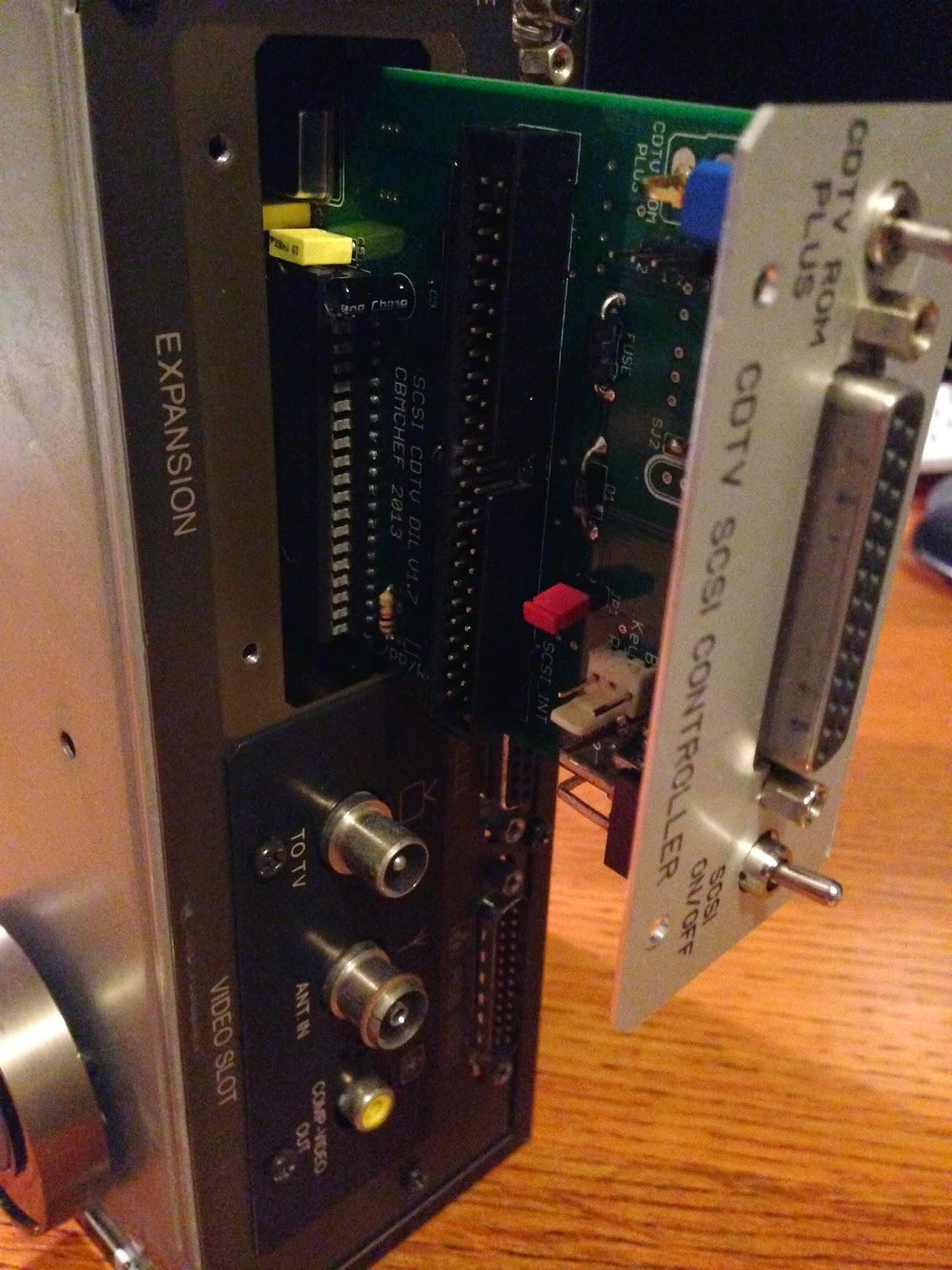 Epsilon S Amiga Blog Cdtv Installing Scsi Controller