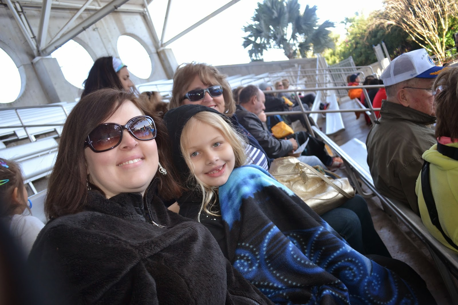 Freezing to death at Seaworld Orlando