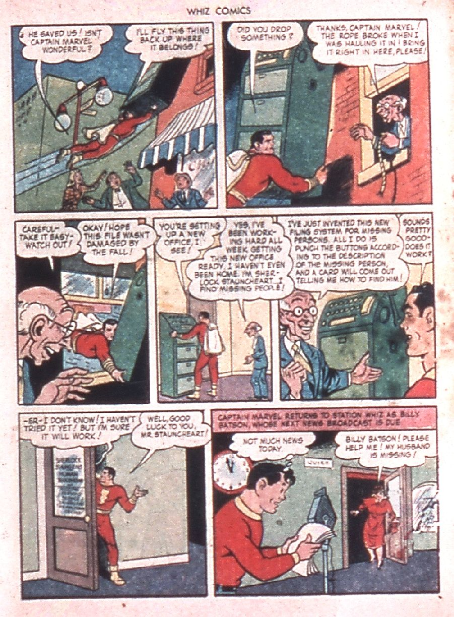 WHIZ Comics issue 60 - Page 5