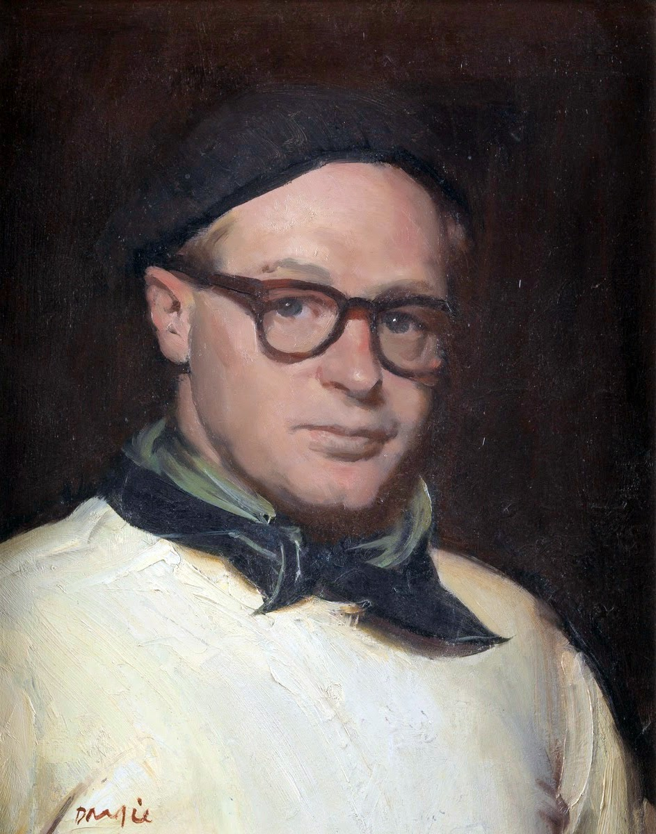 William Alexander Dargie, Self Portrait , Portrait of Painters