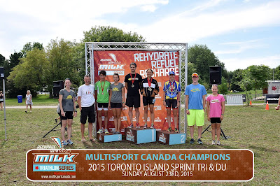 Post-race report - Multisport Canada Toronto Island sprint tri