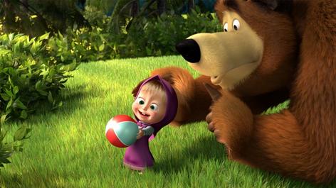 صور ماشا و الدب