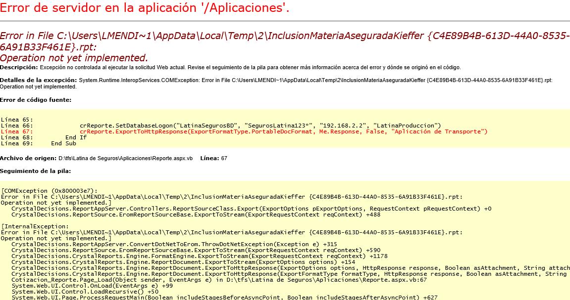 File operation error