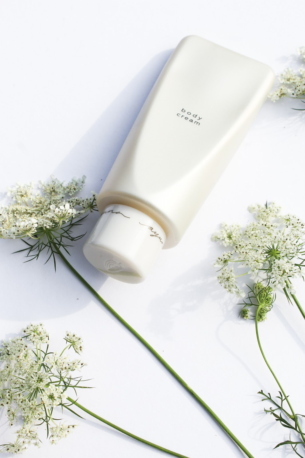 Ayuna Less is Beauty Body Cream. August Beauty Discovery by Beauty Heroes. Prebiotics in skincare