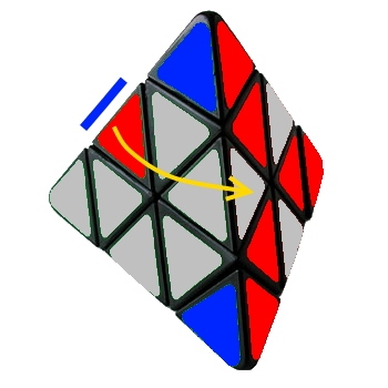 RubiksCubing: How To Solve Rubiks Pyramid (Pyraminx)