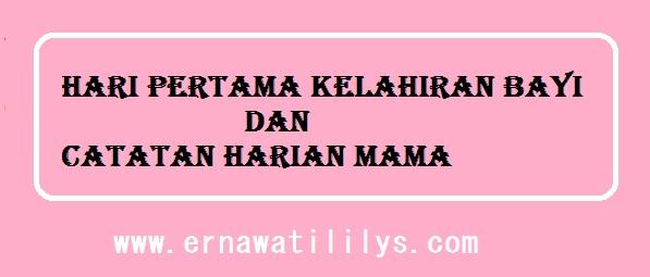 Hari Pertama Kelahiran Bayi dan Catatan Harian Mama