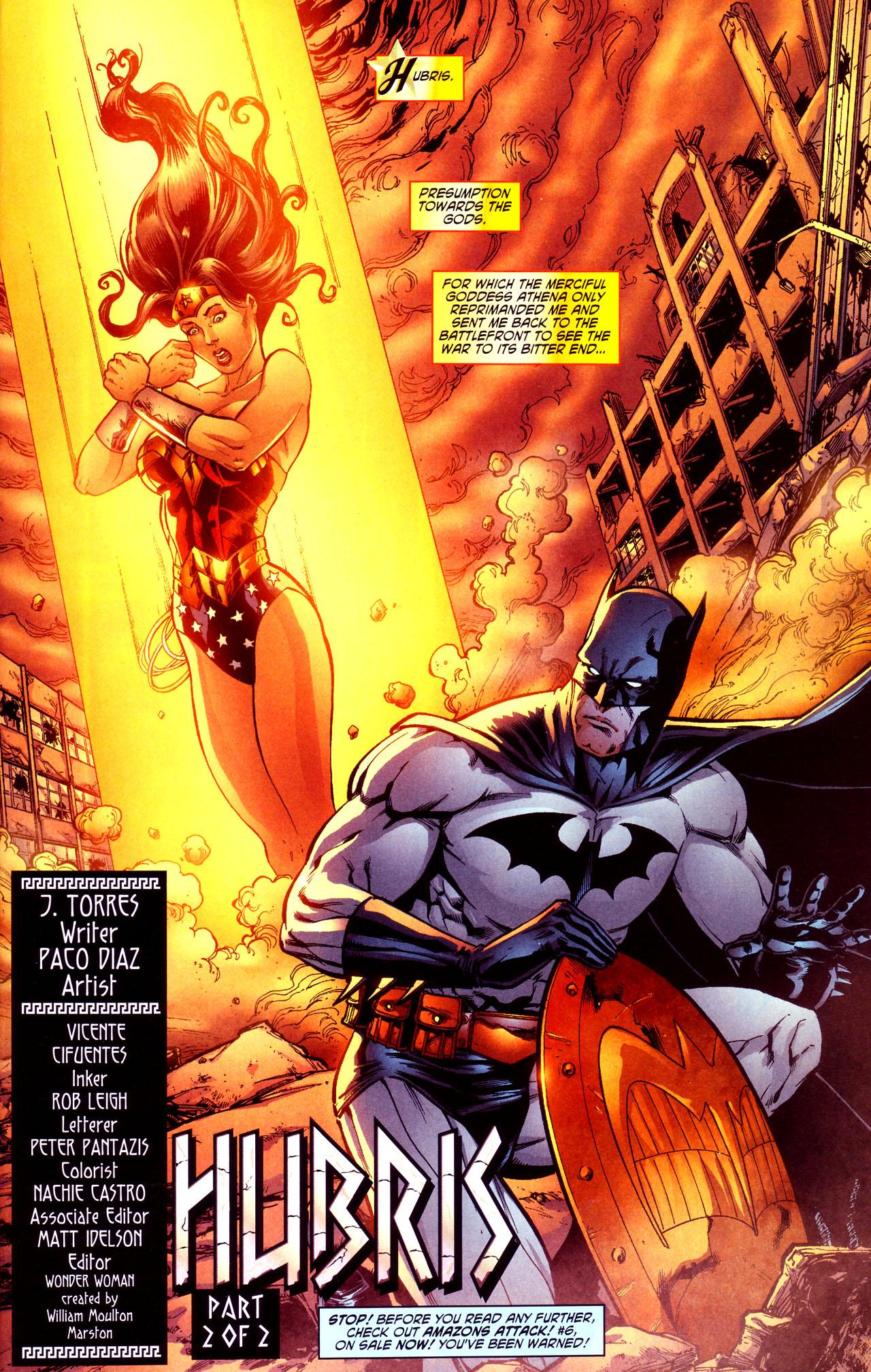 Read online Wonder Woman (2006) comic -  Issue #12 - 2