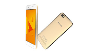 The Panasonic launched a novel smartphone Panasonic P99 launched alongside expandable retention of 128GB