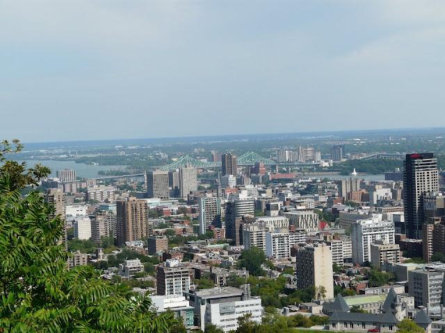 Promenade dans le parc Mont-Royal Montréal