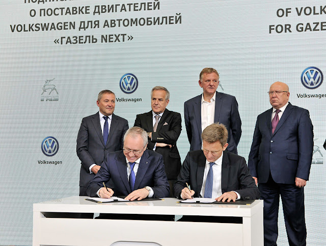 B&E | Volkswagen supplies Russian GAZ Group with engines from Salzgitter
