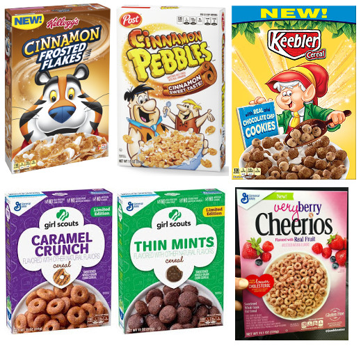 The Breakfast Bowl: New Year, New Cereals