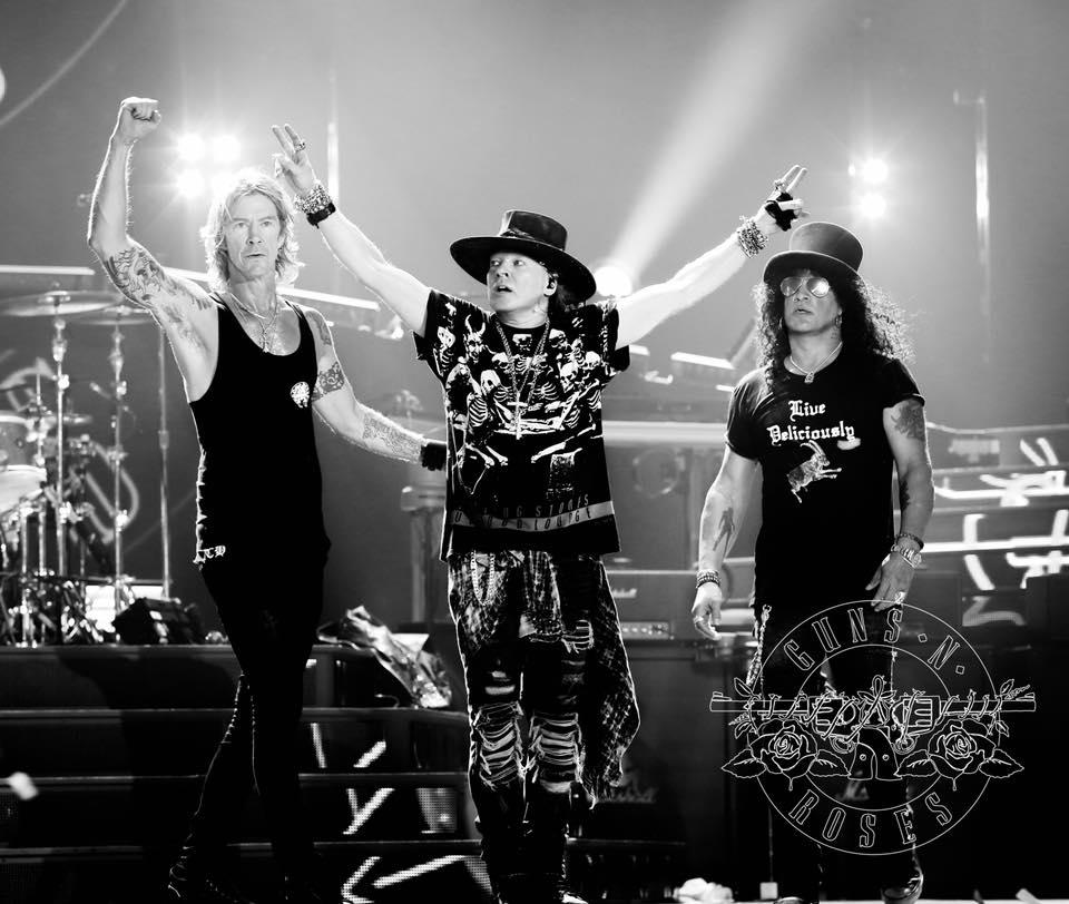 Guns N Roses Reunion Tour Setlist